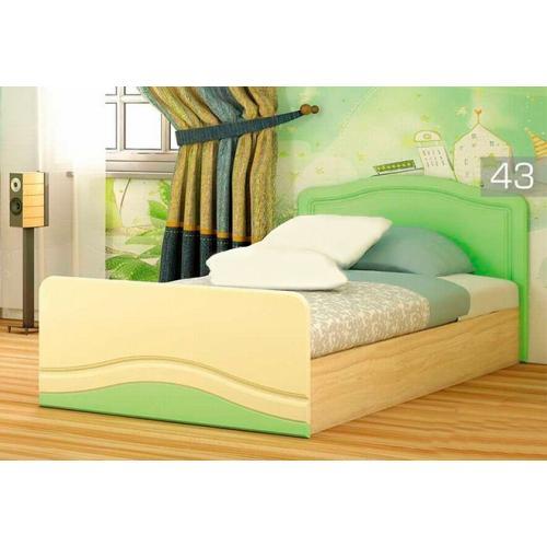 Кровать односпальная КТ-539 Эколь МДФ