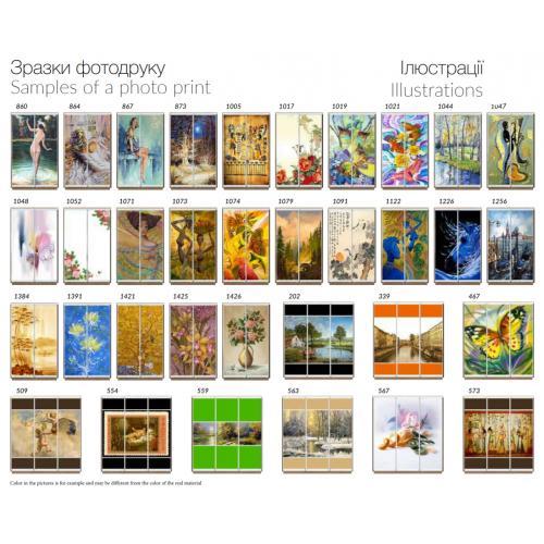 Фасады фотопечать Иллюстрации (2 и 3 двери)