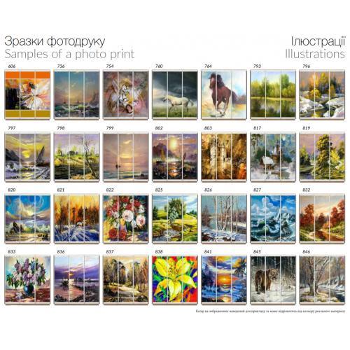 Фасады фотопечать Иллюстрации (3 двери)