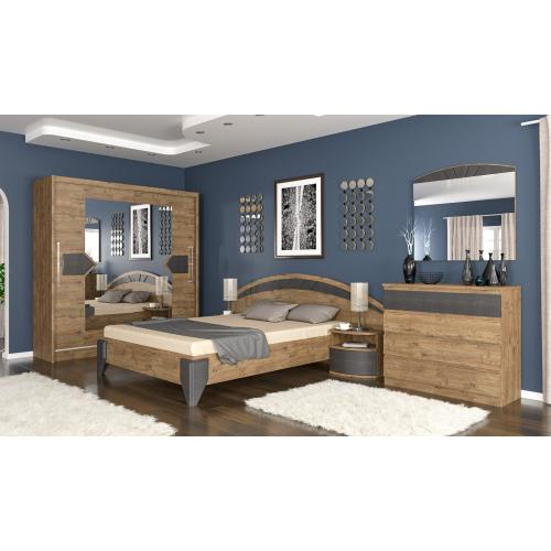 Модульная спальня Аляска Мебель Сервис