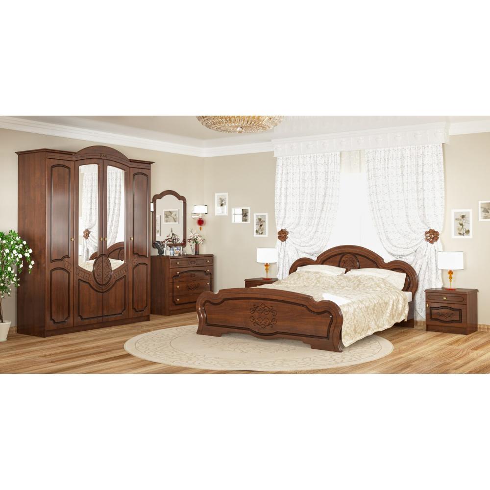 Модульная спальня Барокко Мебель Сервис