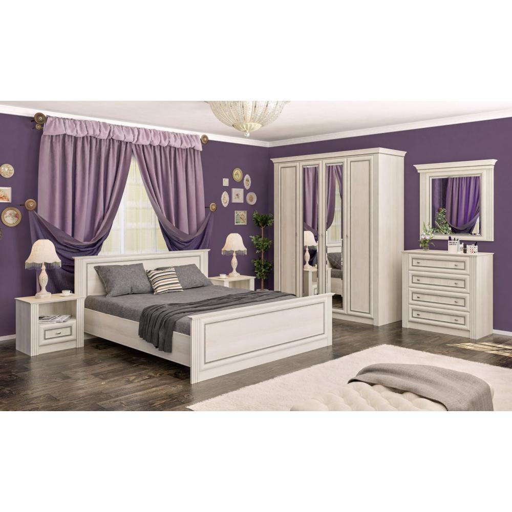 Модульная спальня Бристоль New Мебель Сервис