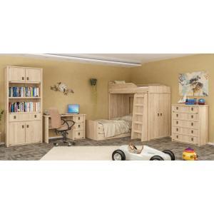 Детская стенка с кроватью и столом Валенсия Мебель Сервис