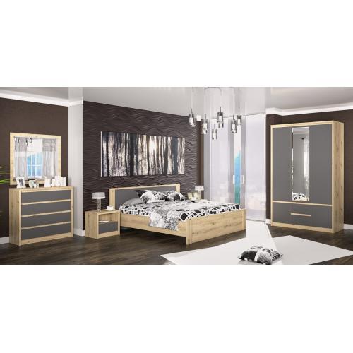Модульная спальня Доминика Мебель Сервис