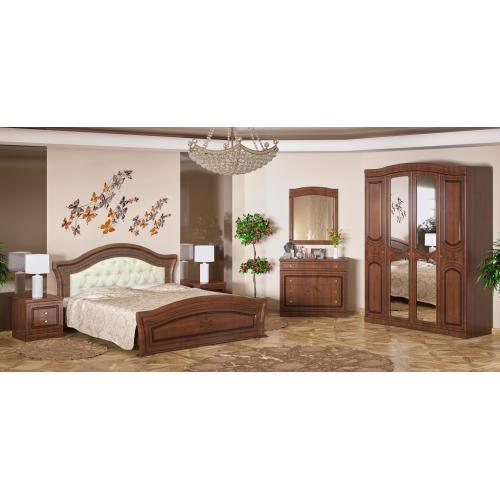 Спальня 4Д Милано Мебель Сервис