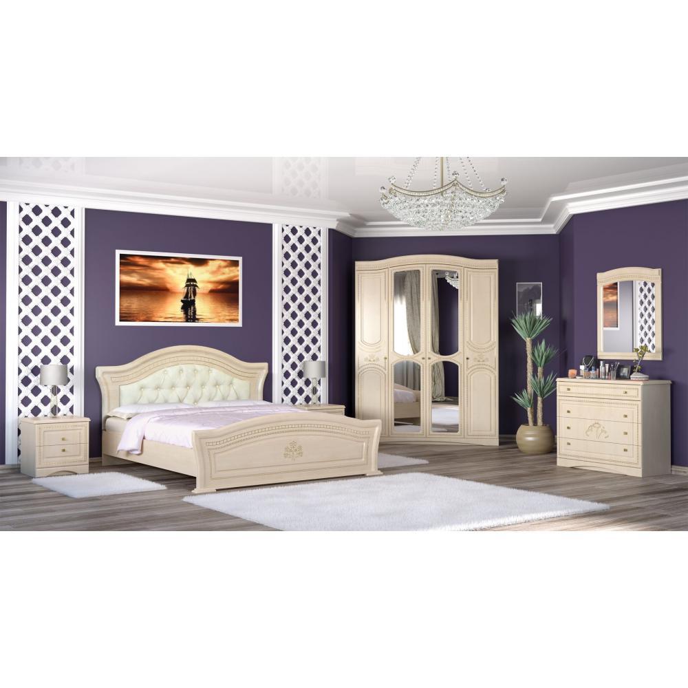 Модульная спальня Милано Мебель Сервис