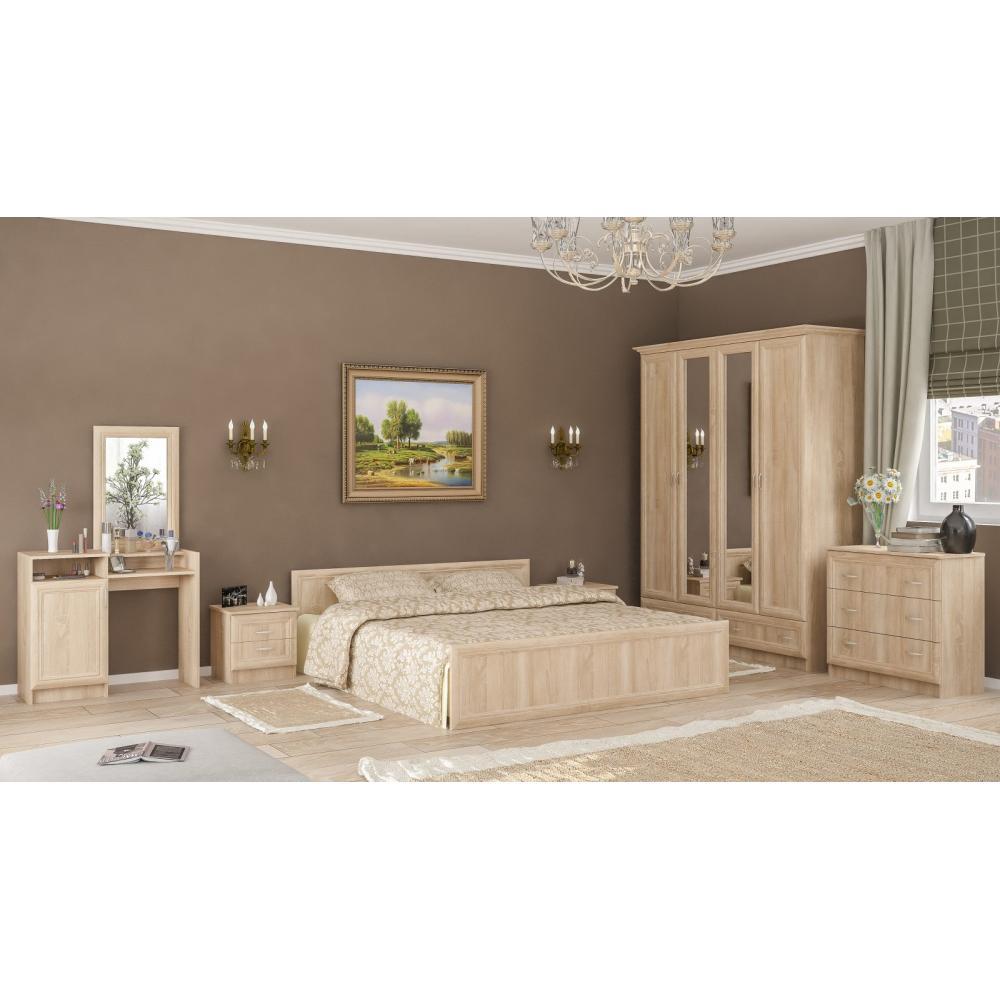 Модульная спальня Соната Мебель Сервис
