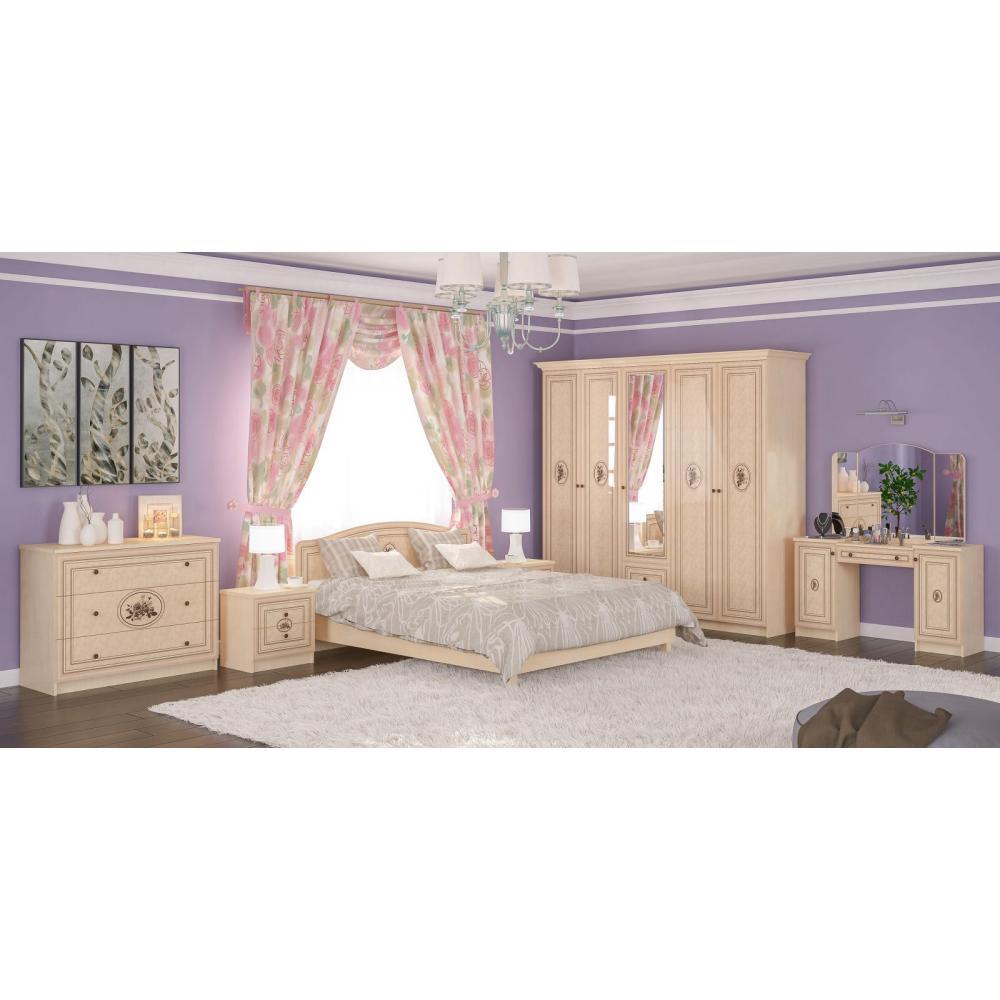 Модульная спальня Флорис Мебель Сервис