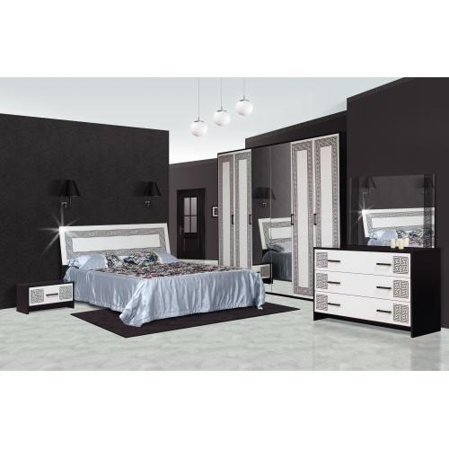 Спальня 6Д Бася Нова Олимпия Мир мебели