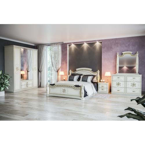 Спальня 4Д Жасмин Мир мебели