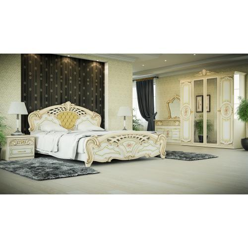 Спальня 4Д Кармен Нова Люкс Мир мебели
