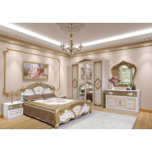 Спальня 4Д Кармен Нова Мир Мебели (пино золото)