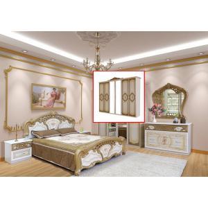 Спальня 6Д Кармен Нова Мир Мебели (пино золото)