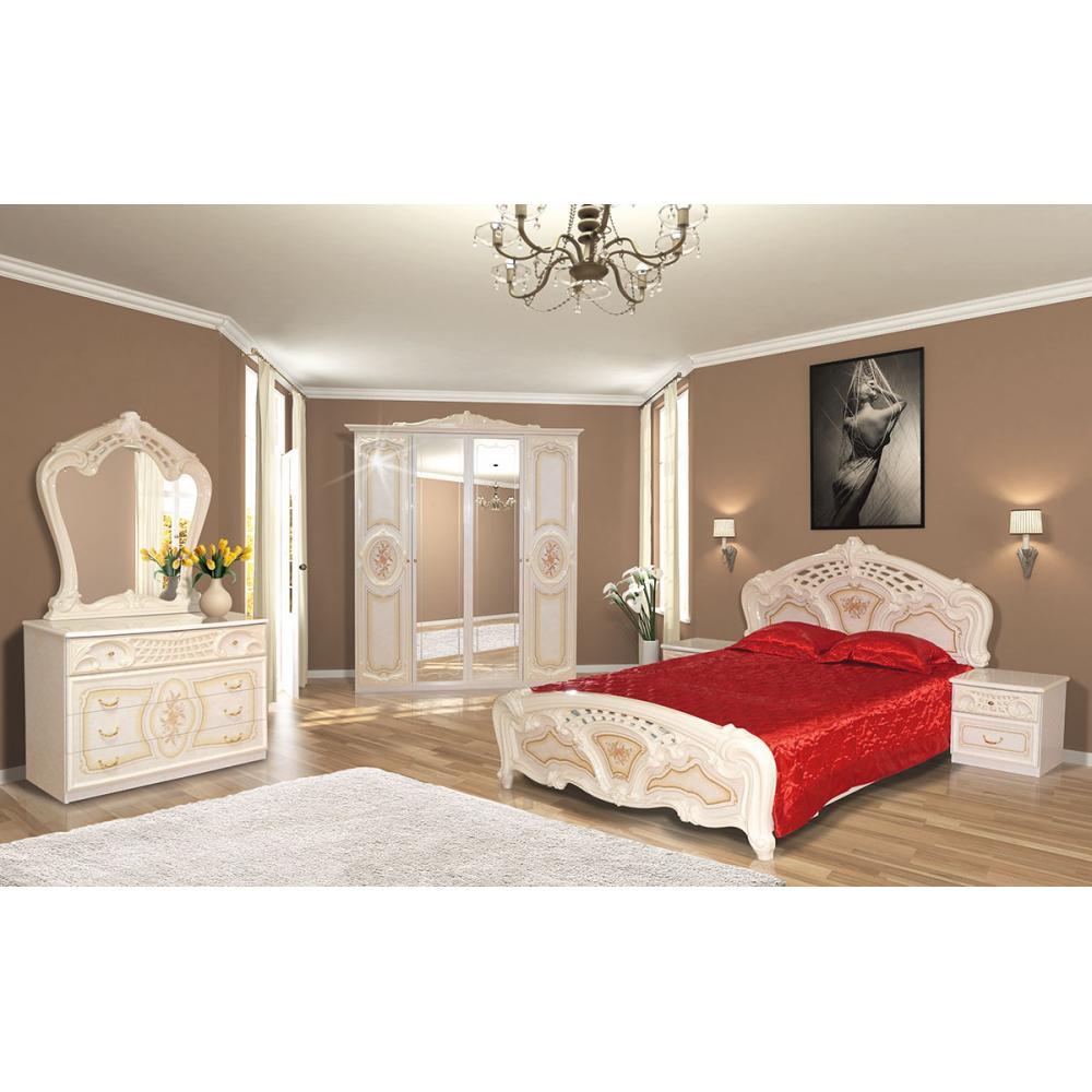 Модульная спальня Кармен Нова Мир Мебели (пино беж)