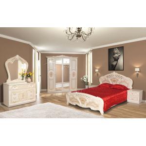 Спальня 4Д Кармен Нова Мир Мебели (пино беж)