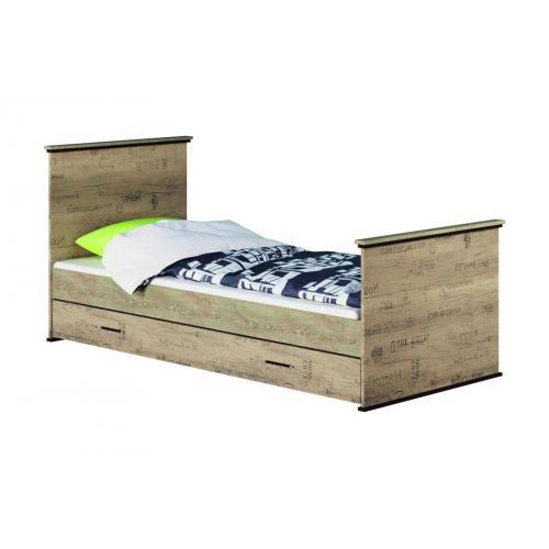 Кровать односпальная Палермо Мир Мебели