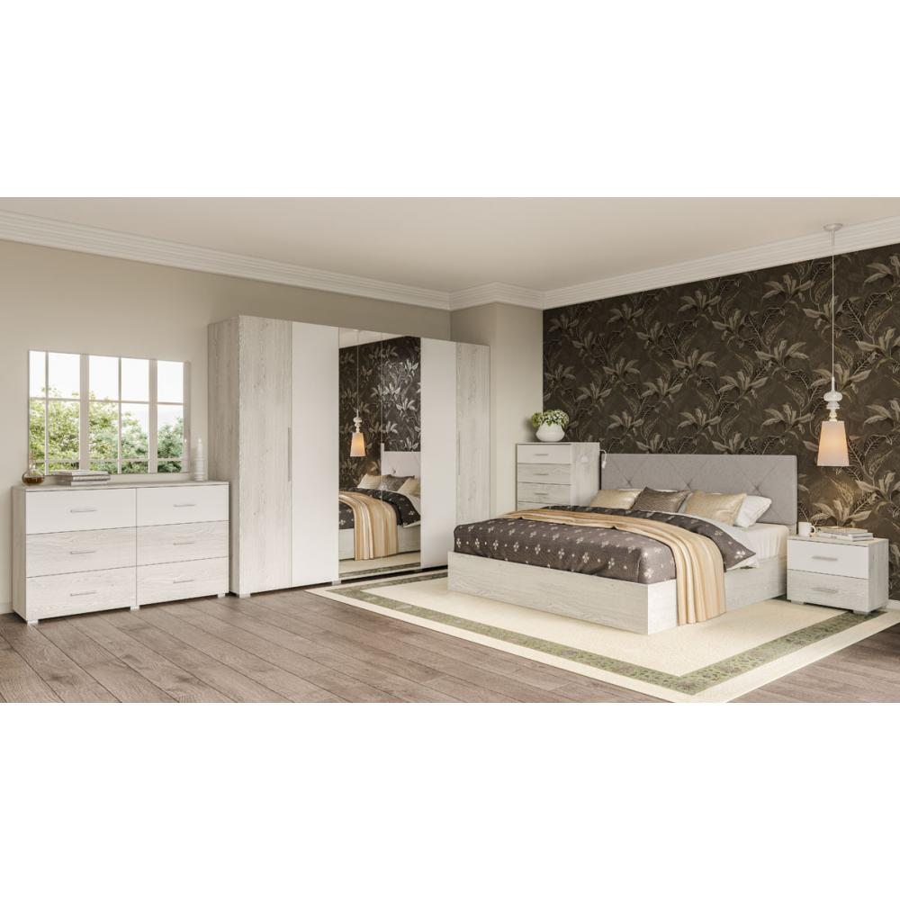Модульная спальня Ромбо Мир Мебели