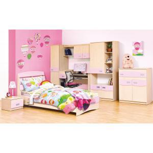 Детская стенка с кроватью и столом Терри Мир Мебели