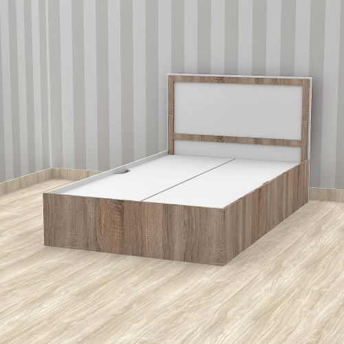 Кровать односпальная 900 Трюфель