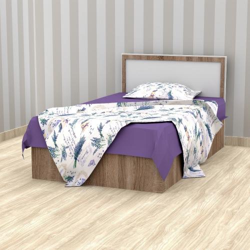 Кровать односпальная 800 Трюфель