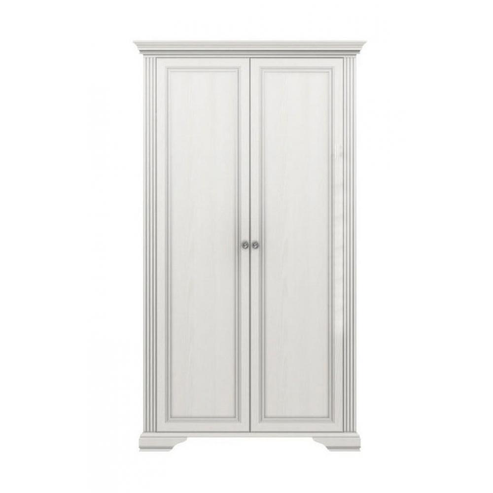 Шкаф 2D Вайт Гербор (серебро)