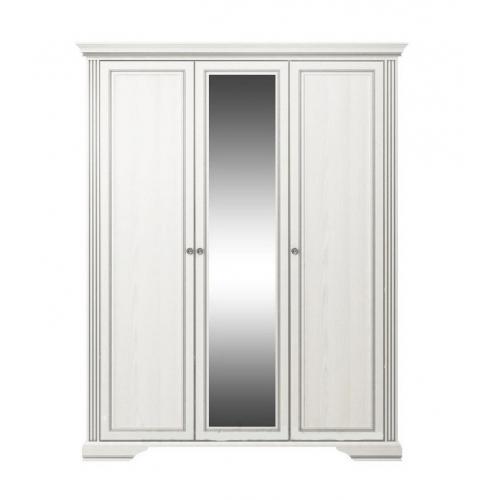 Шкаф 3D(2S) Вайт Гербор (серебро)