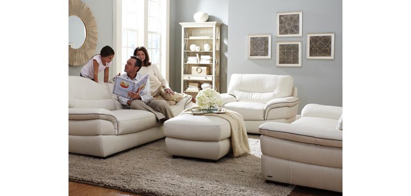 Удобные и практичные кожаные диваны