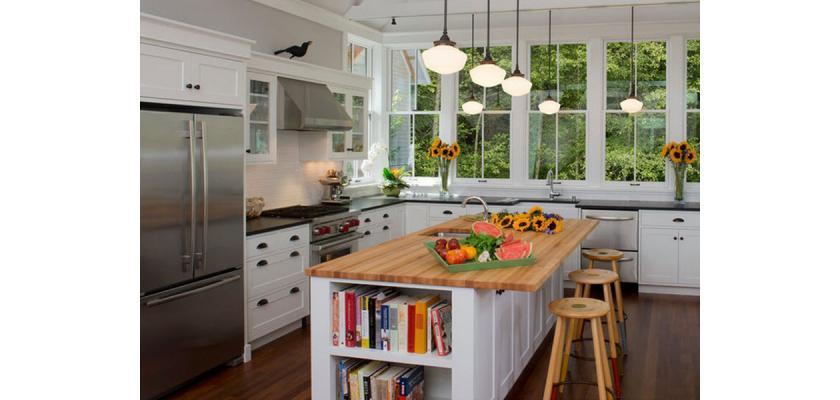 Как и чем оборудовать кухню в доме